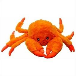 Jolly Pets Jolly Tug-a-mal Crab Tug/squeak Toy, Extra Large