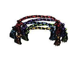 Nuts for Knots Jumbo Rope Dog Toy 48 inches
