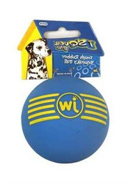 JW Isqueak Ball Rubber Dog Toy Size:Medium Packs:Pack of 1