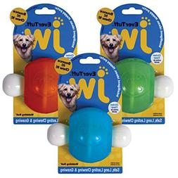JW Pet 46123 EverTuff Wobbling Ball Toys for Pets, Medium, A