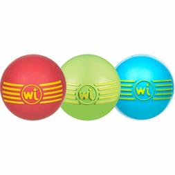 JW Pet iSqueak Ball Dog Toys Colors Vary