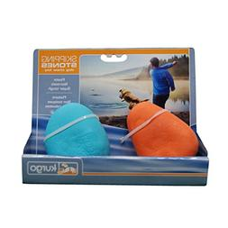 Kurgo Skipping Stones Floating Dog Fetch Toy - 2 Pack