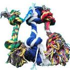 20cm Dog Puppy Pet Cotton Braided Bone Rope Chew Knot Toy