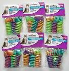 6-Pack Ethical Pet Colorful Springs Cat Toys * 10 Toys per P