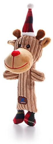 Charming 61256 Christmas Tennis Heads Reindeer Pet Products