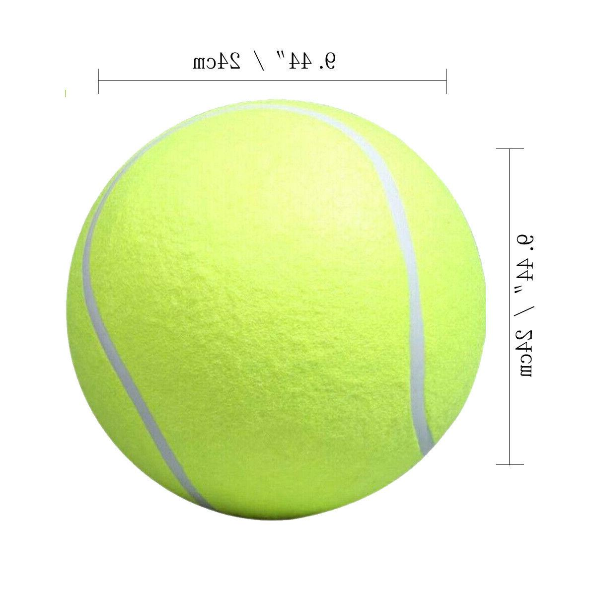 """9.5"""" Large Tennis Thrower Chucker Launcher Play Toy Size"""