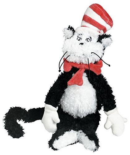 """Manhattan Toy Dr. Seuss Cat in the Hat 12"""" Soft Plush Toy"""