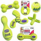 air medium squeaky dog tennis fetch squeaker