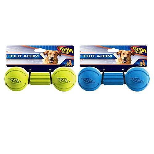 barbell chew toy