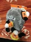ZippyPaws Burrow Squeaky Hide and Seek Plush Dog Toy, Hallow