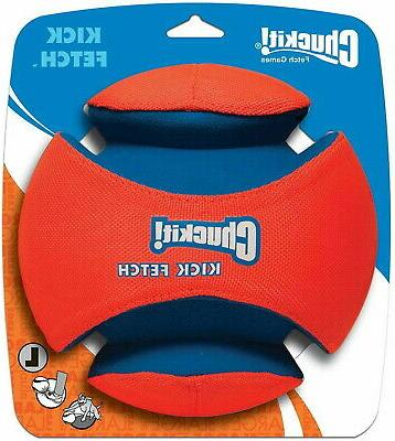 Chuckit! Dog KICK FETCH Durable Canvas Toy Ball Will Not Def
