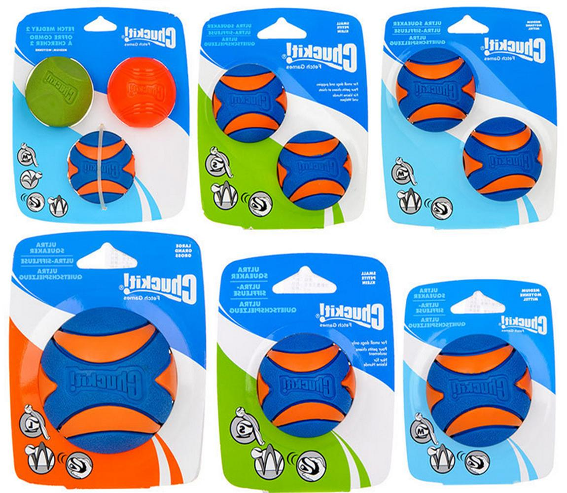 chuckit ultra ball pet dog puppy squeaky