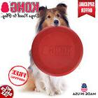 KONG Classic Dog Toy Frisbee Extreme Rubber Flyer Large Smal