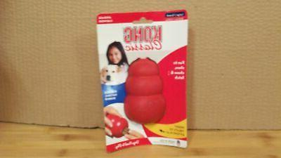 classic large dog chew toy red l