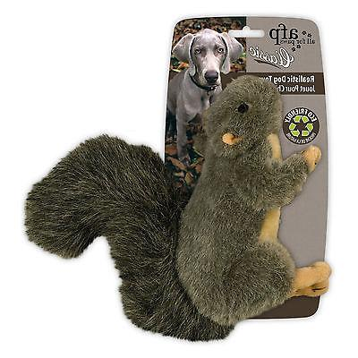 All CLASSIC SQUIRREL Dog Toy Squeaker SMALL