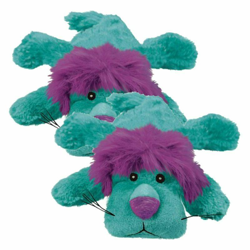 Kong Cozie King Purple Dog Toy,