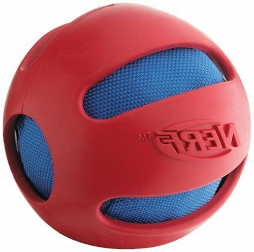 crunch squeak rubber ball toy