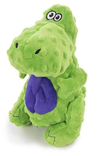 Plush Toy with Chew Technology, Green, Large