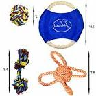 Dog Chew Rope Toy Assortment 14 Pack for Small Medium Large