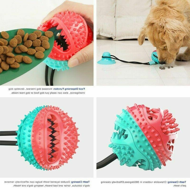Dog Molar Teeth Cleaning Puppy Cup Dispenser