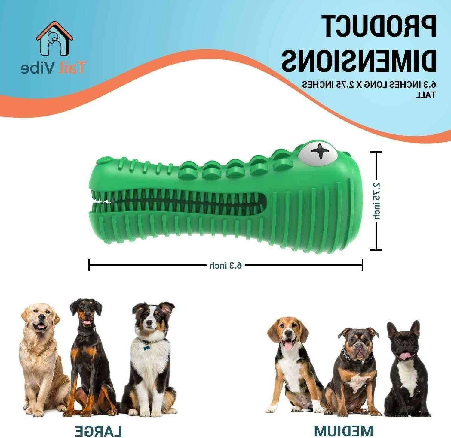 Tail Vibe Dog Toy & Large Dogs