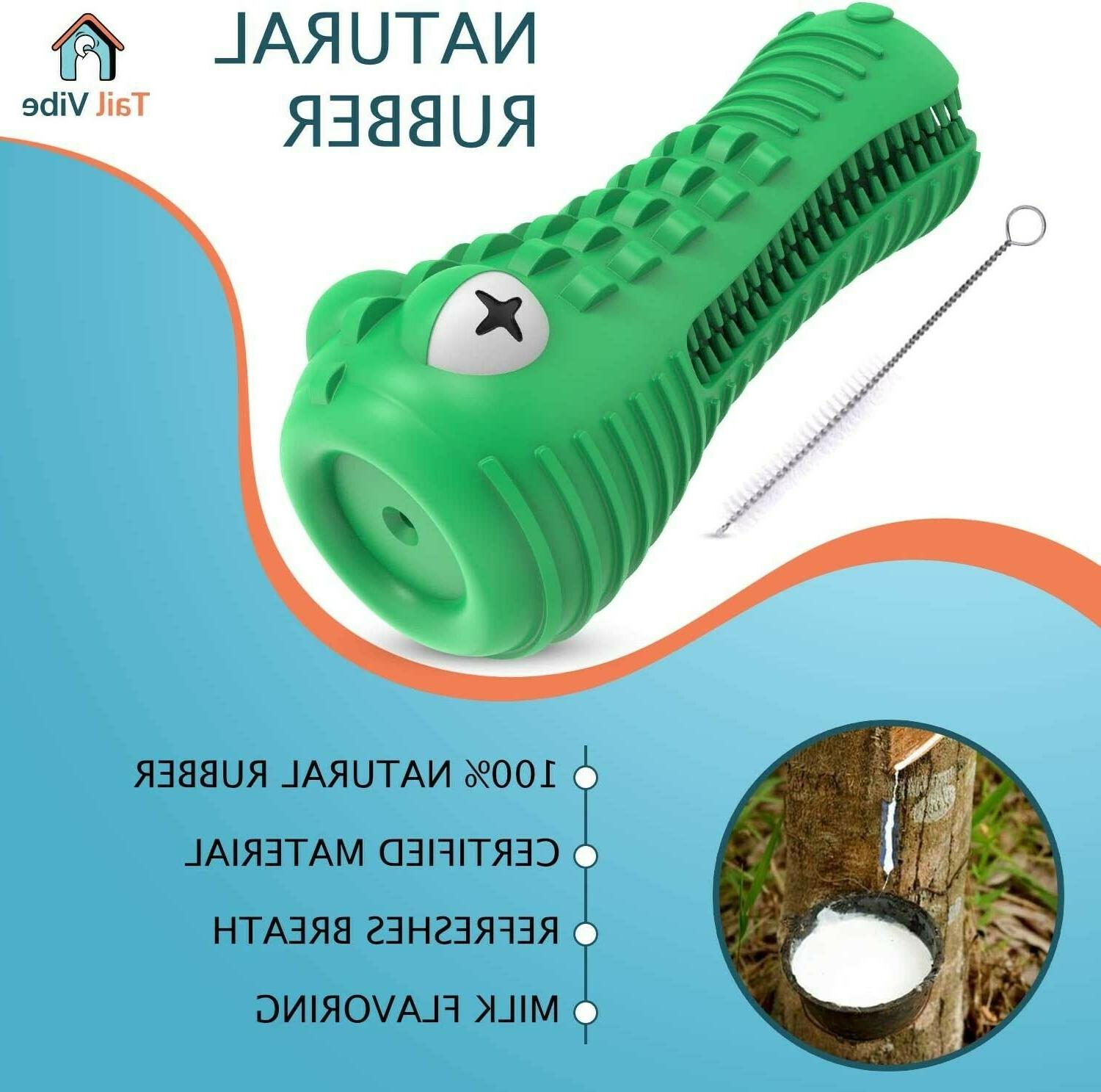 Tail Dog Toy for Medium & Large Dogs - 2-in-1 Durable Dog Aggr