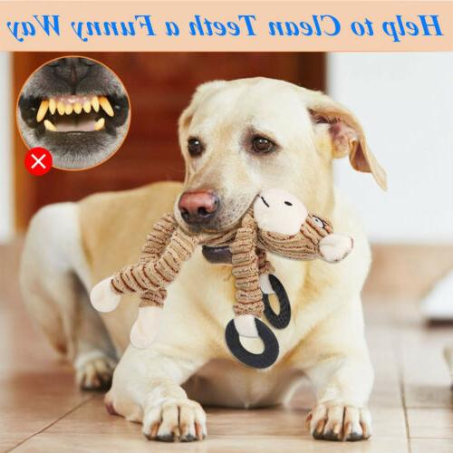 Dog Squeaky Plush Dog Aggressive Pet Toys
