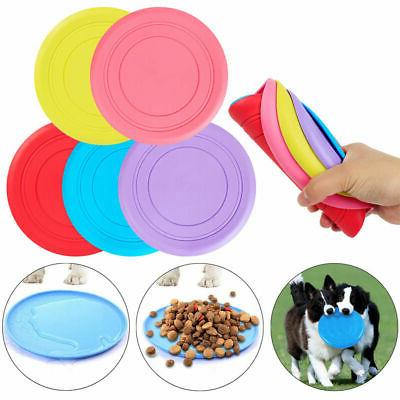dog frisbee toy exercise pet training tool