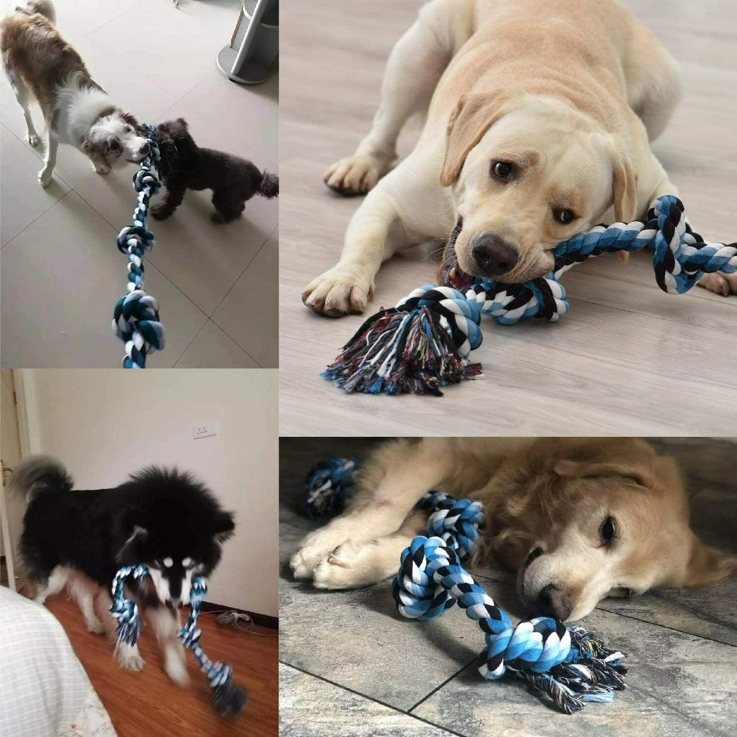 Dog Rope Toy for Aggressive - Medium to Large Breed |
