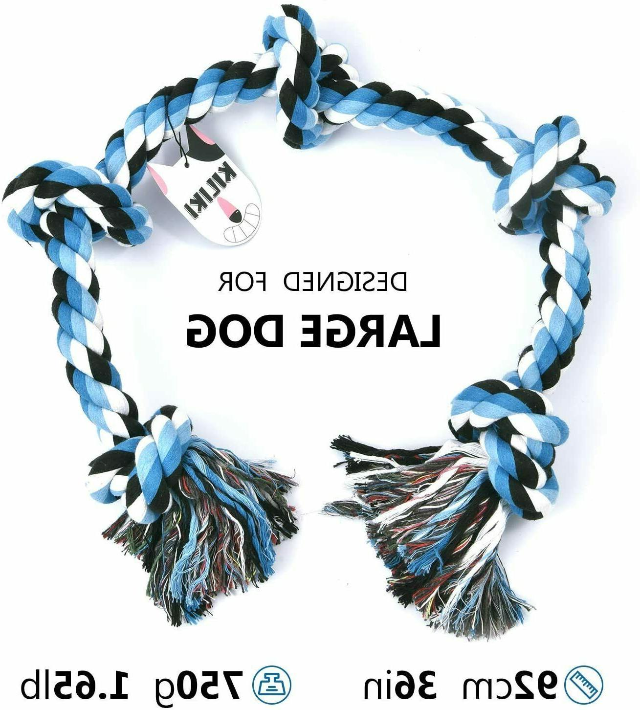 Dog Rope Toy Aggressive to |
