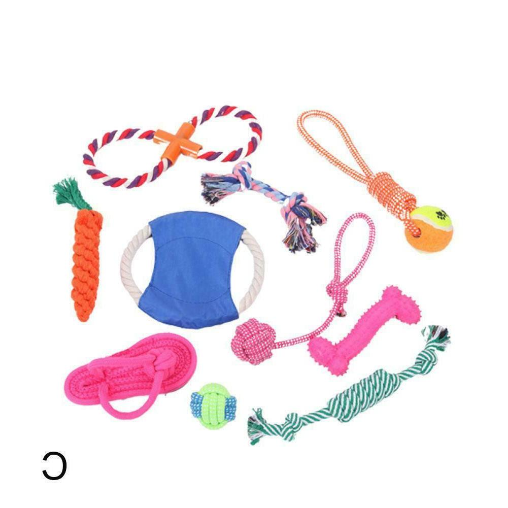 Dog Rope Aggressive Chewers Puppy Pack