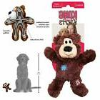 Kong Dog Squeaky Toy Wild Bear Knots Durable Soft Stuffed Pe