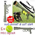 Dog Tennis Ball Gun Launcher Squeaky Balls Pet Play Fetch Th