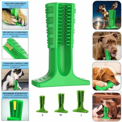 Dog Toothbrush Pet Stick Toy Oralcare