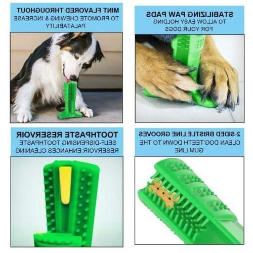 Dog Toothbrush Brushing Stick Chew Toy Pet Oralcare