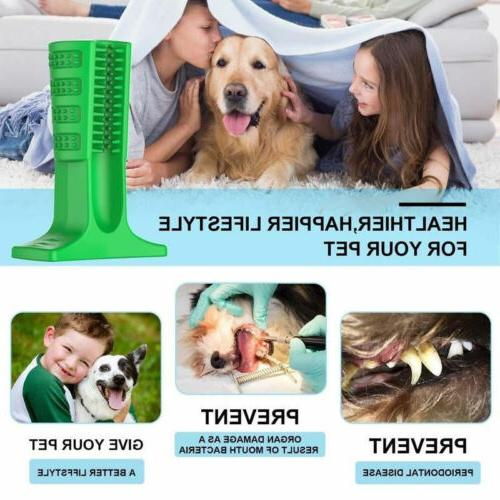Dog Pet Brushing Stick Teeth Cleaning Toy Oralcare