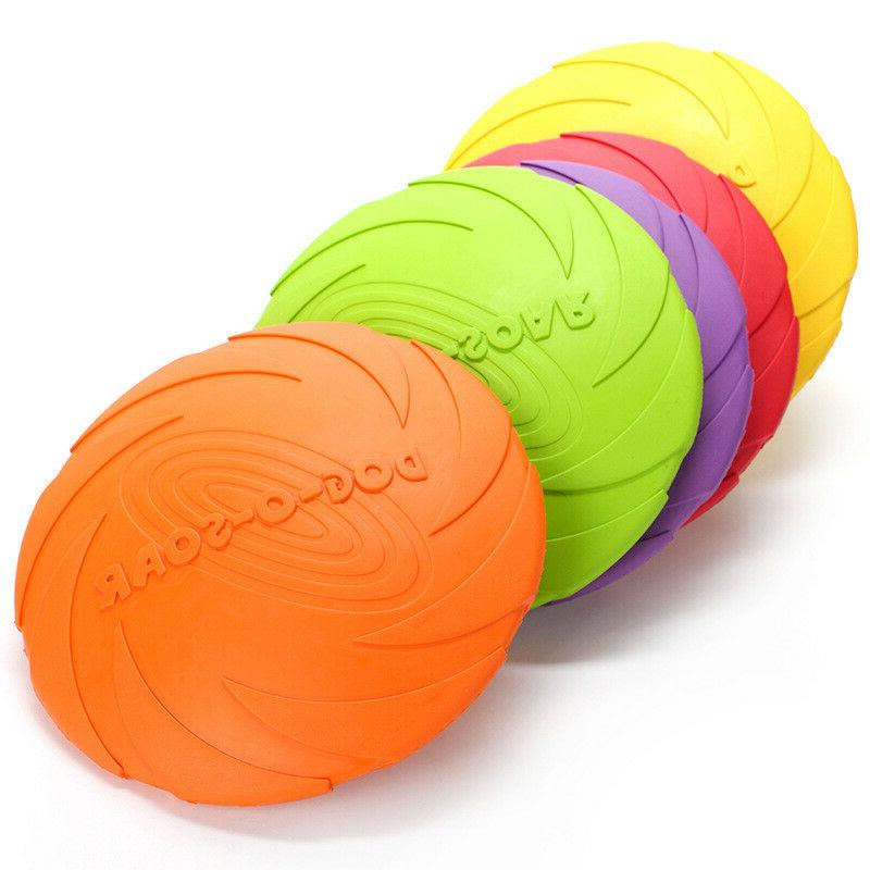 Dog Flyer Durable Frisbee Disc Chew Toys