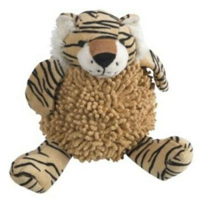 Dog Toy PetRageous Designs SafariRageous Tad The Tiger Cheni