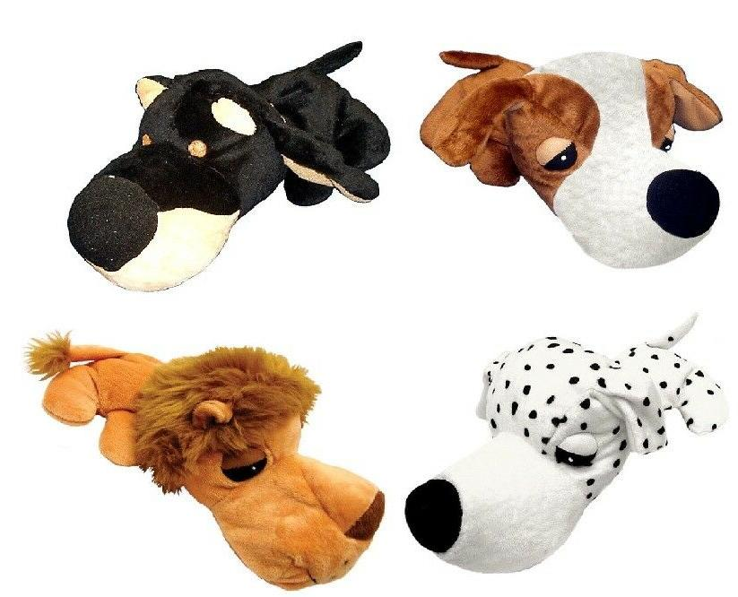 Dog Stuffed Squeaker Choose Animal 11""