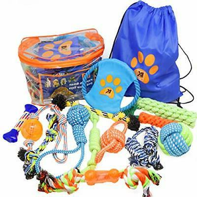 dog toys 13 puppy dog rope toys