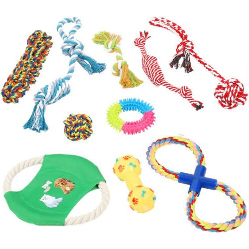 dog rope toys for aggressive chewers set