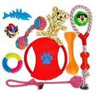 FONPOO Dog Toys for Aggressive Chewers Indestructible Dog To