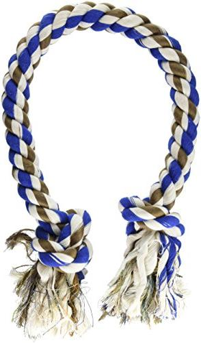 Dogsavers 2 Knot Tug Rope - 42 in. - Assorted Colors