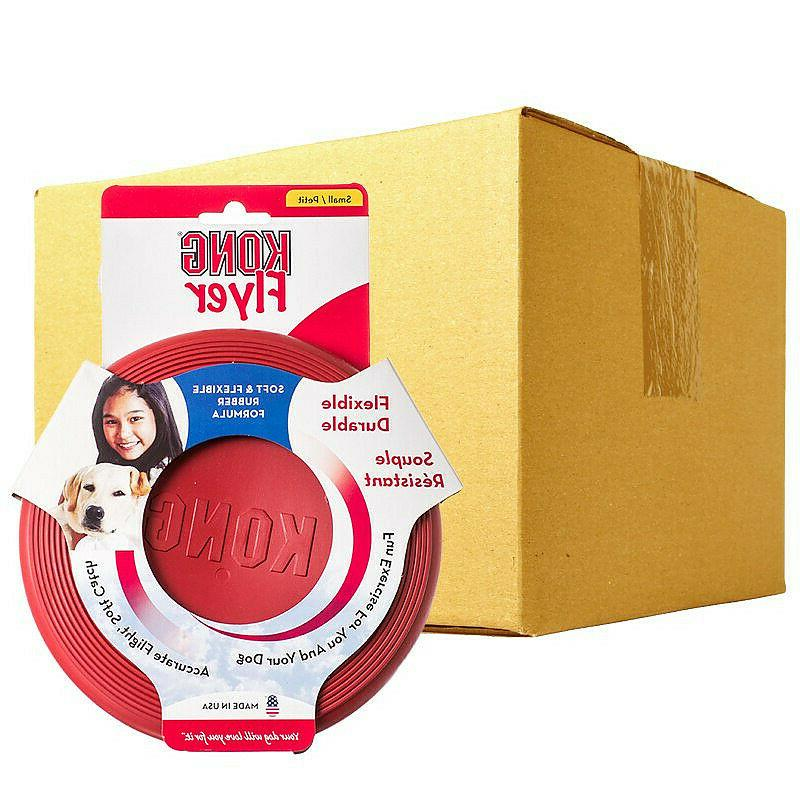Flyer Flying Toy Frisbee Fetch Red