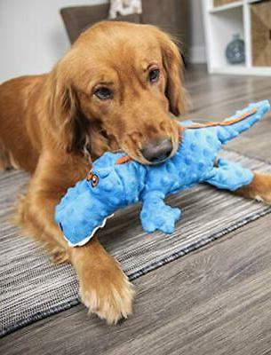 Gators With Guard Technology Tough Plush Dog For