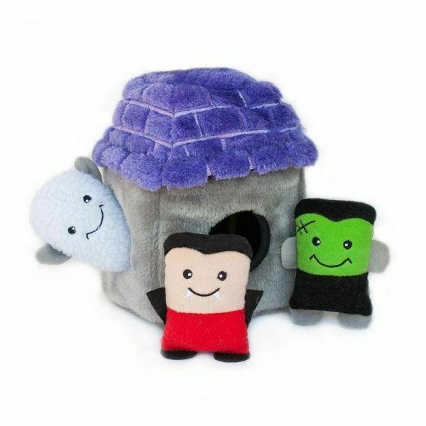 halloween dog toys assorted burrows and spooky