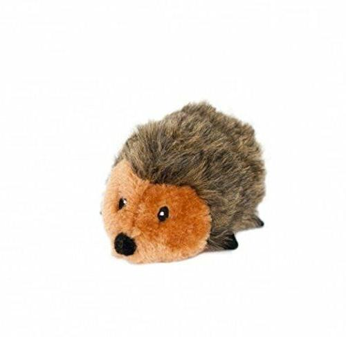 ZippyPaws Hedgehog Squeaky Plush Dog Toy 3 sizes