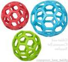 JW PET HOL-EE ROLLER BALL DOG TOY - Non-Toxic Natural Rubber