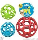JW Pet Holee Roller Ball Dog Puppy Toy Hol-ee ball SMALL to