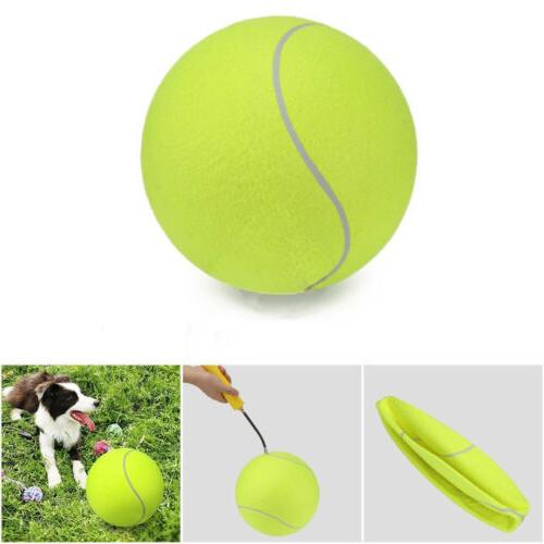 "Hot 9.5"" Big Pet Dog Ball Thrower Play"